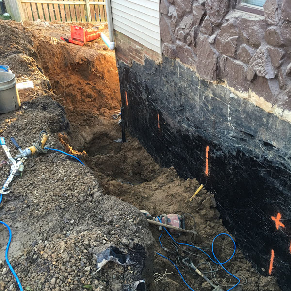 Square-foundation-waterproofing